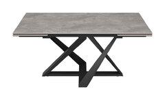 Стол обеденный Nicolas FLEETWOOD NEW керамика светло-серый глянец